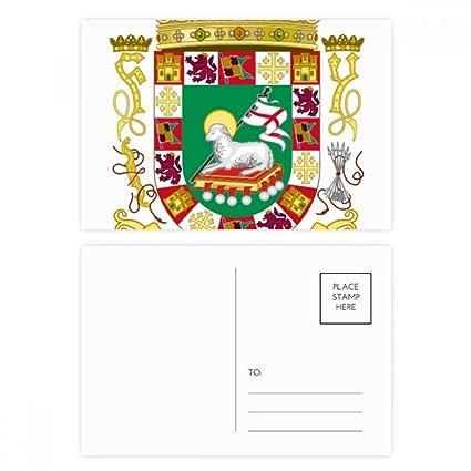 DIYthinker Gracias emblema nacional tarjetas postales ...