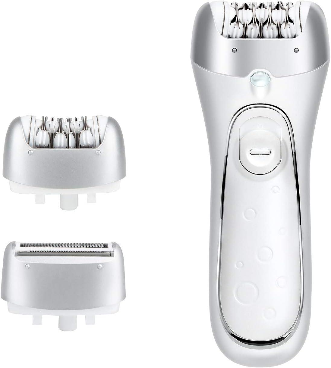 Hangsun Depiladora Eléctrica para Mujer F230 Depiladora Eléctrica Depiladora Inalámbrico 2 en 1 Afeitadora