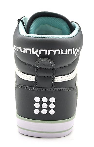 Drunknmunky Boston Classic 127 - Zapatillas deportivas, color gris intenso Deep Grey Talla:38