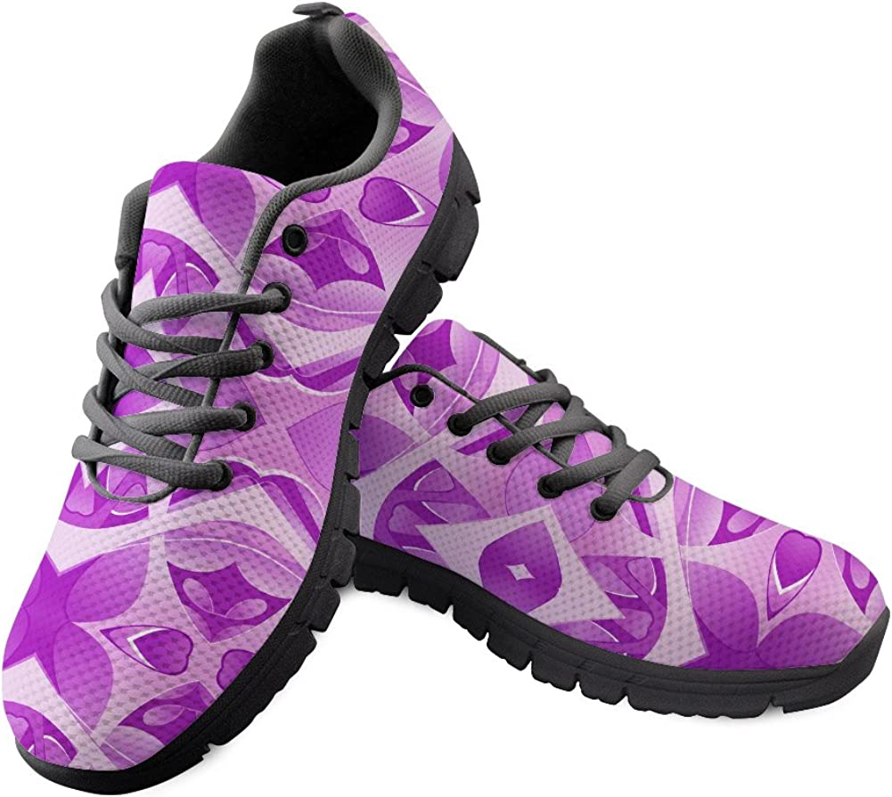 DeePrint Personalized Athletic Trainer Men Sneakers Shoes Colorful Sport Shoes