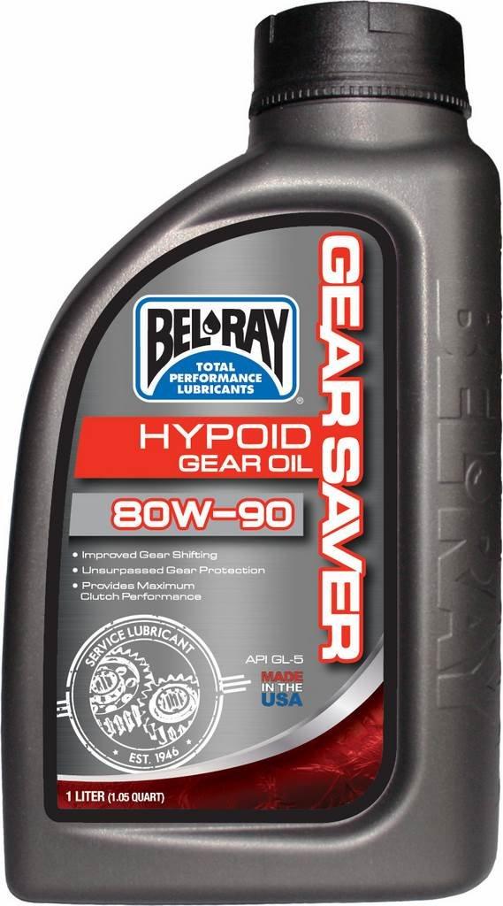 BEL RAY - Botella aceite caja de cambios 1L Bel-Ray Gear Saver Hypoid 80W-90 - 35988: Amazon.es: Coche y moto