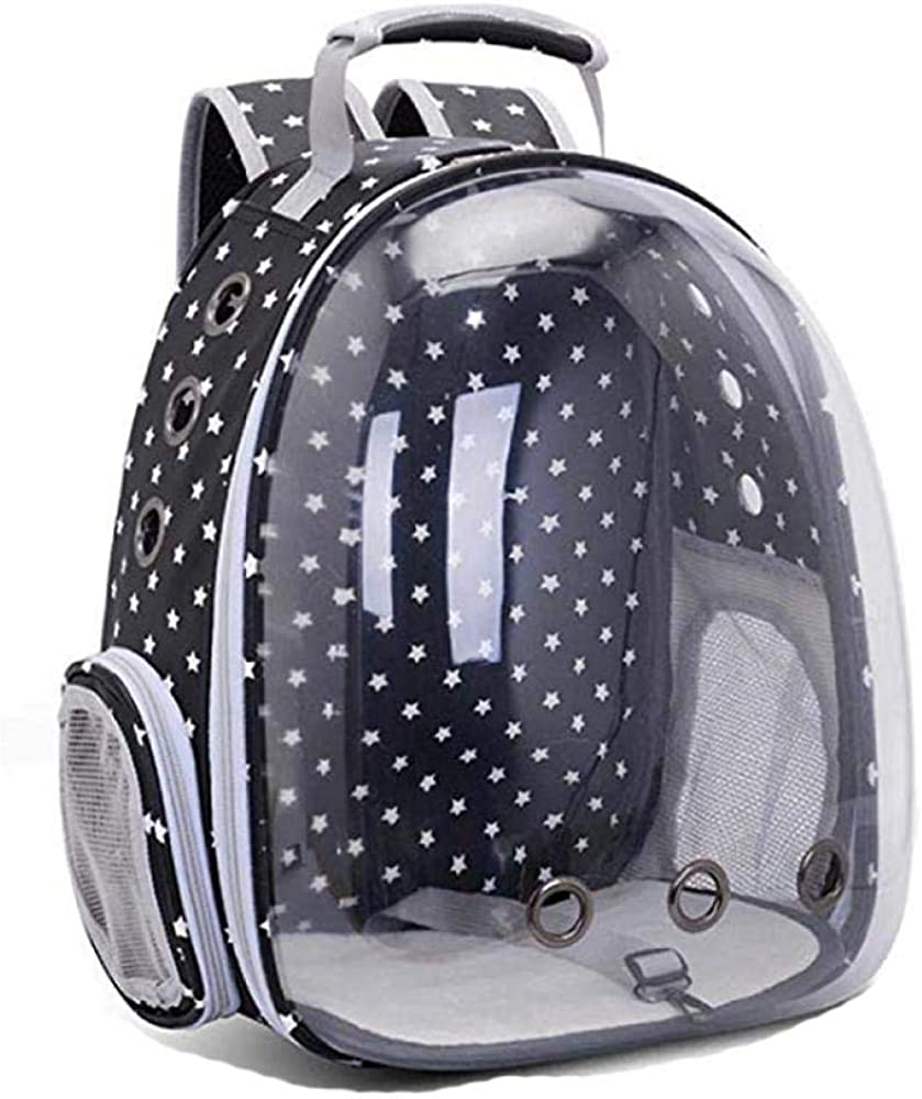 Pet Carrier Backpack,Airline Approved Pet Cat Dog Puppy Space Capsule Bubble Breathable Transparent Backpack