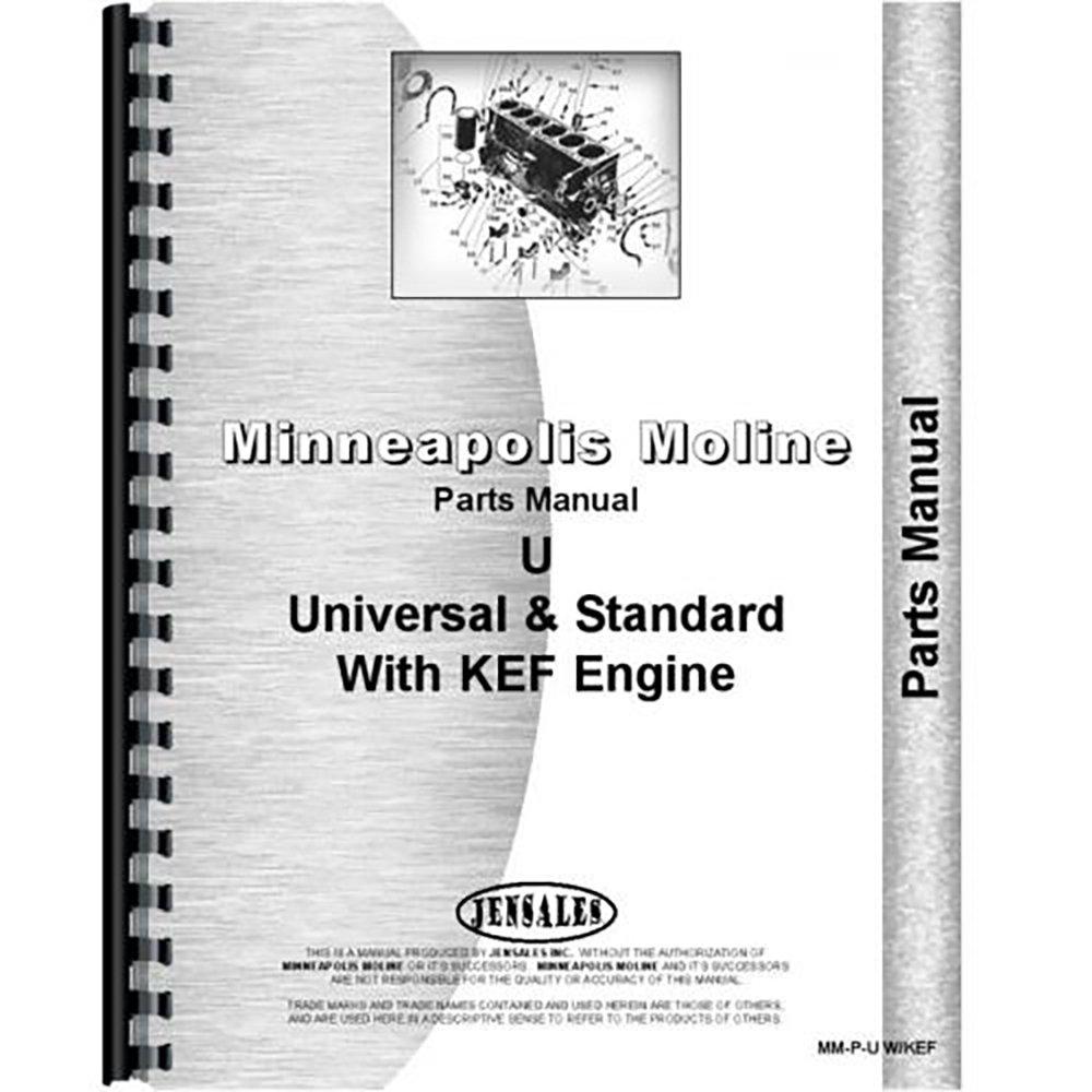 amazon com new minneapolis moline u tractor parts manual w kef amazon com new minneapolis moline u tractor parts manual w kef engine industrial scientific