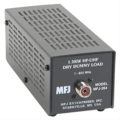Mfj-264 Dry Dummy Load, 1.5kw, 0-600 Mhz , SO-239 Input: Electronics