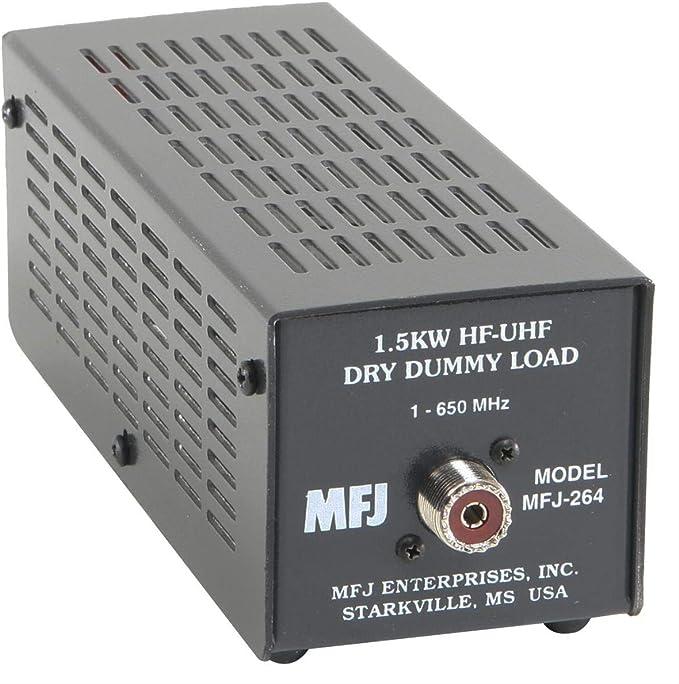 Mfj-264 carga seca del maniquí 1,5 kw, 0-600 MHz, entrada SO-239