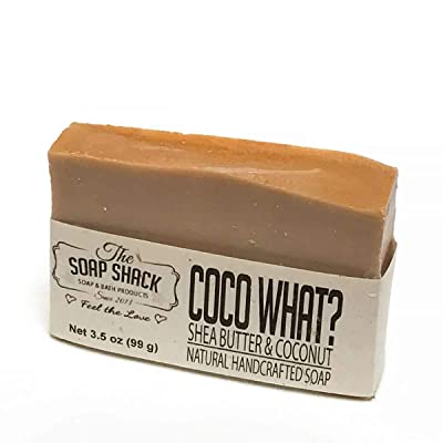 Natural Handmade Bar Soap - Has the scent of Exotic coconut - Handmade with our Special blend of skin Loving oils