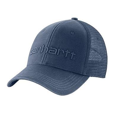 Carhartt Dunmore Ball Cap - Azul sombrero gorra de beisbol Carhartt logotipo 101 CH101195476BLUE-One Size: Amazon.es: Ropa y accesorios