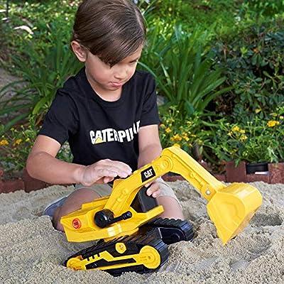 Cat Construction Power Haulers Excavator: Toys & Games