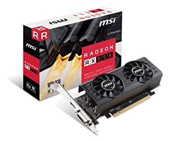 msi VGA AMD RX 550 4GT LP OC 4GB DDR5: Msi: Amazon.es: Electrónica