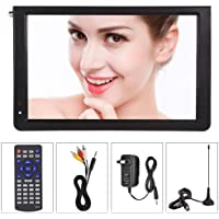 ATSC Portable 4 Sizes Digital TV, TFT LED 1080P HDMI Television, Video Player for Home Car Outdoor Travel(12inch)