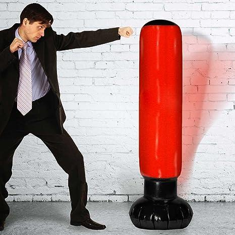 Mikamax - Hinchable - Saco de Boxeo - 5 pies de Altura ...