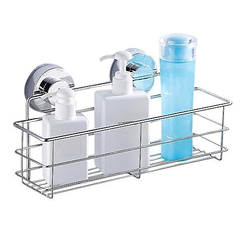duschkorb ohne bohren duschregal ohne bohren duschablage duschkorb badregal badkorb with. Black Bedroom Furniture Sets. Home Design Ideas
