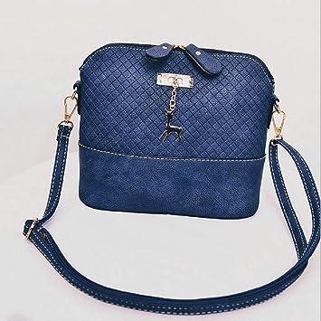 color azul Bolso bandolera para mujer unknow YiYour dise/ño de piedra