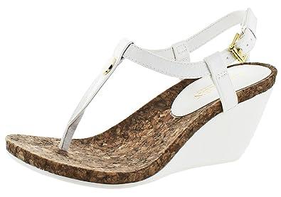 Lauren by Ralph Lauren Women's Reeta Sandals (8 B(M) US, White