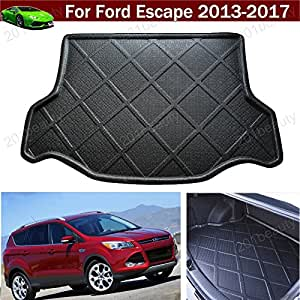 car mat car boot pad trunk cargo liner cargo mat tray floor protector mat fit for ford escape. Black Bedroom Furniture Sets. Home Design Ideas