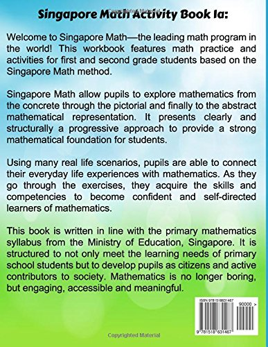 Singapore Math Activity Book 1a: The leading math program for Grade ...
