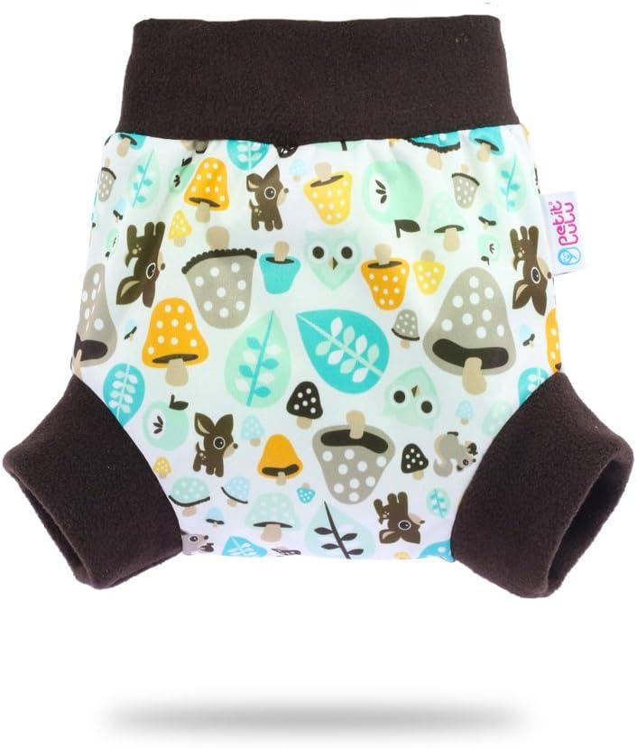 tama/ño m avispas sobre pantalones para pa/ñales absorbente y de noche pa/ñales 6//–/10/kg Petit Lulu cubrepa/ñales