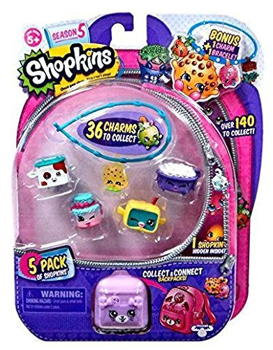 Shopkins S5 5 Pack - American Girl Doll Tiny Shops