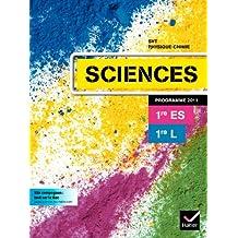 Sciences 1res ES/L manuel de l'élève édit.2011