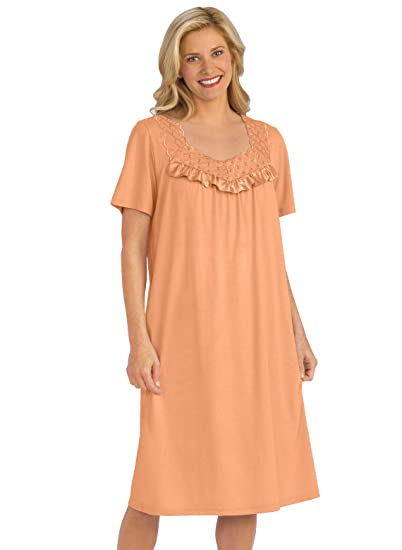 784c271bf Cotton Knit Nightgown at Amazon Women's Clothing store: