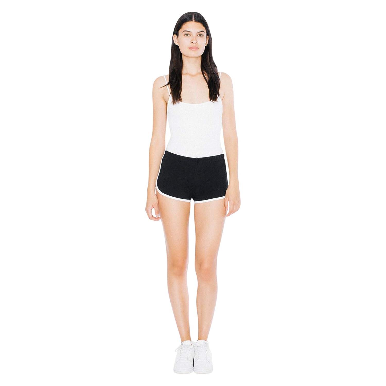 American Apparel Womens Interlock Running Short