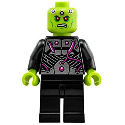 LEGO DC Brainiac Minifigure [Loose]: Toys & Games