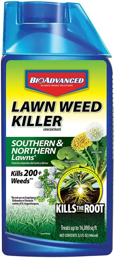 BioAdvanced Weed Killer for Lawns Concentrate