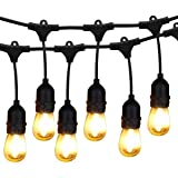 Outdoor Garden String Lights 25ft G40 Oxyled Garden Patio