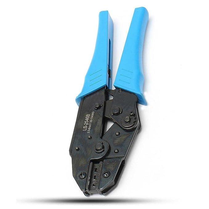 SODIAL MC4 Outil de sertissage de panneau solaire Connecteur de cable Pinces Sertisseur de Cliquet terminal