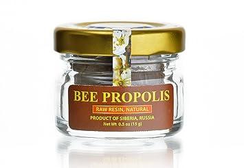 Bee Propolis - Raw Propolis, Pure, Natural from SIBERIA, 0 5 oz (15 g)
