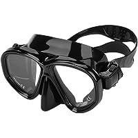 Máscara de buceo de vidrio templado gafas de natación Máscara de snorkel para adultos Equipo de buceo