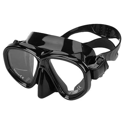 bbd18e3d4f Máscara de buceo de vidrio templado gafas de natación Máscara de snorkel  para adultos Equipo de