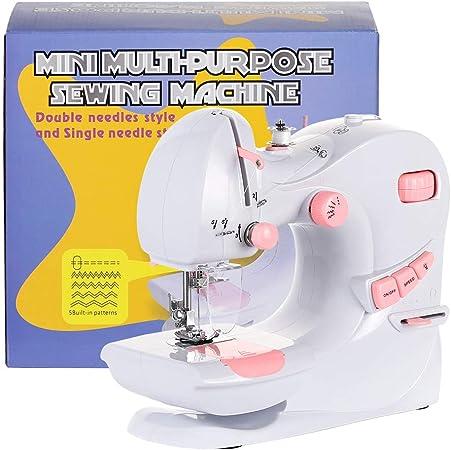 NEX Máquina de coser portátil con protector de aguja, diseño de ...