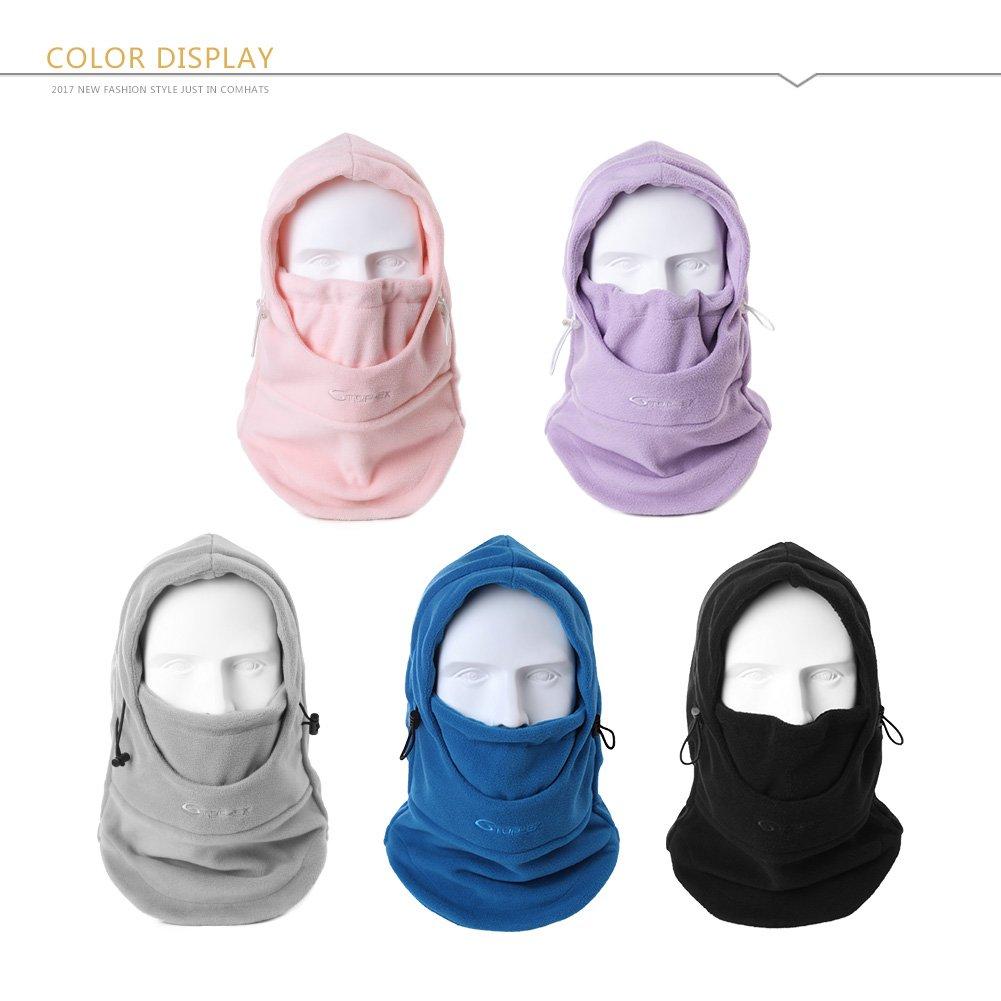2364dfbfb46 SIGGI 100 % Cotton Trapper Hat Aviator Earflap Hat Faux Fur Warm Winter Hat  for Women ...