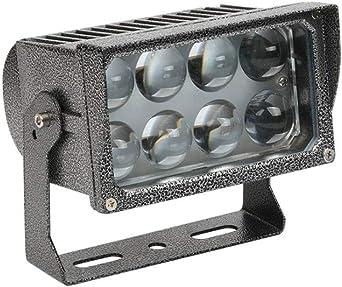 Proyector LED Lámpara de proyección redonda for exteriores Luz ...