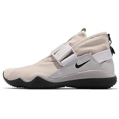 8b96adbb7fef3 Nike Mens Komyuter PRM High Top Lifestyle Fashion Sneakers Ivory 7 Medium  (D)