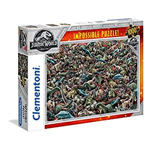 Clementoni 39470 Jurassic World 1000 T Impossible