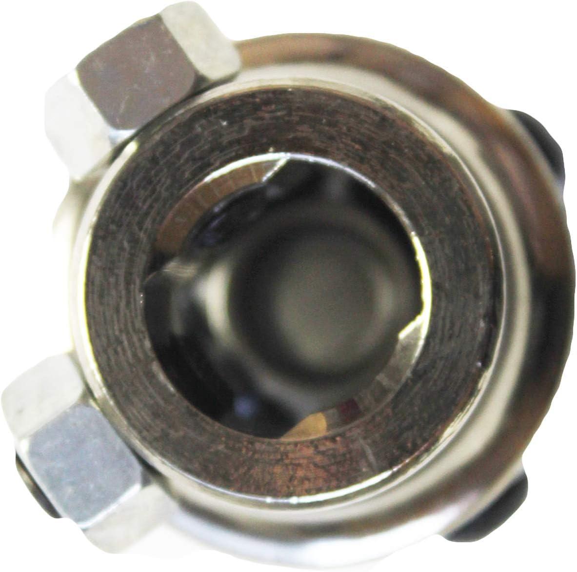 YYW 3//4-36 Spline x 3//4 DD Chrome Single Universal Steering Shaft U Joint New