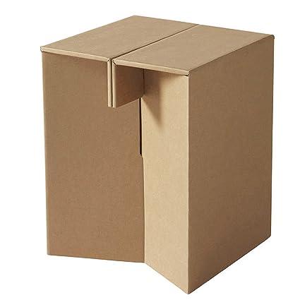 Taburete de cartón reposapiés Paper Maker pequeño con 120 kg ...
