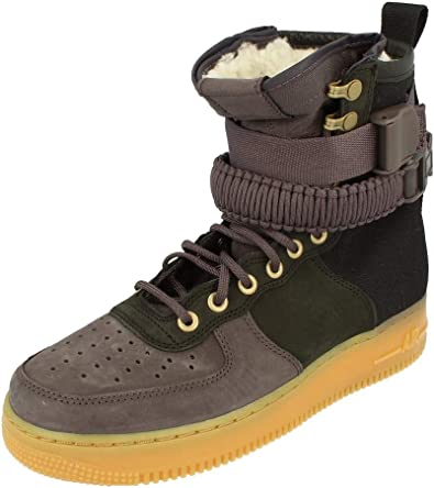 Abuso Mucho Lo siento  Amazon.com | Nike Sf Af1 PRM Mens Hi Top Trainers Bv0130 Sneakers Shoes |  Shoes