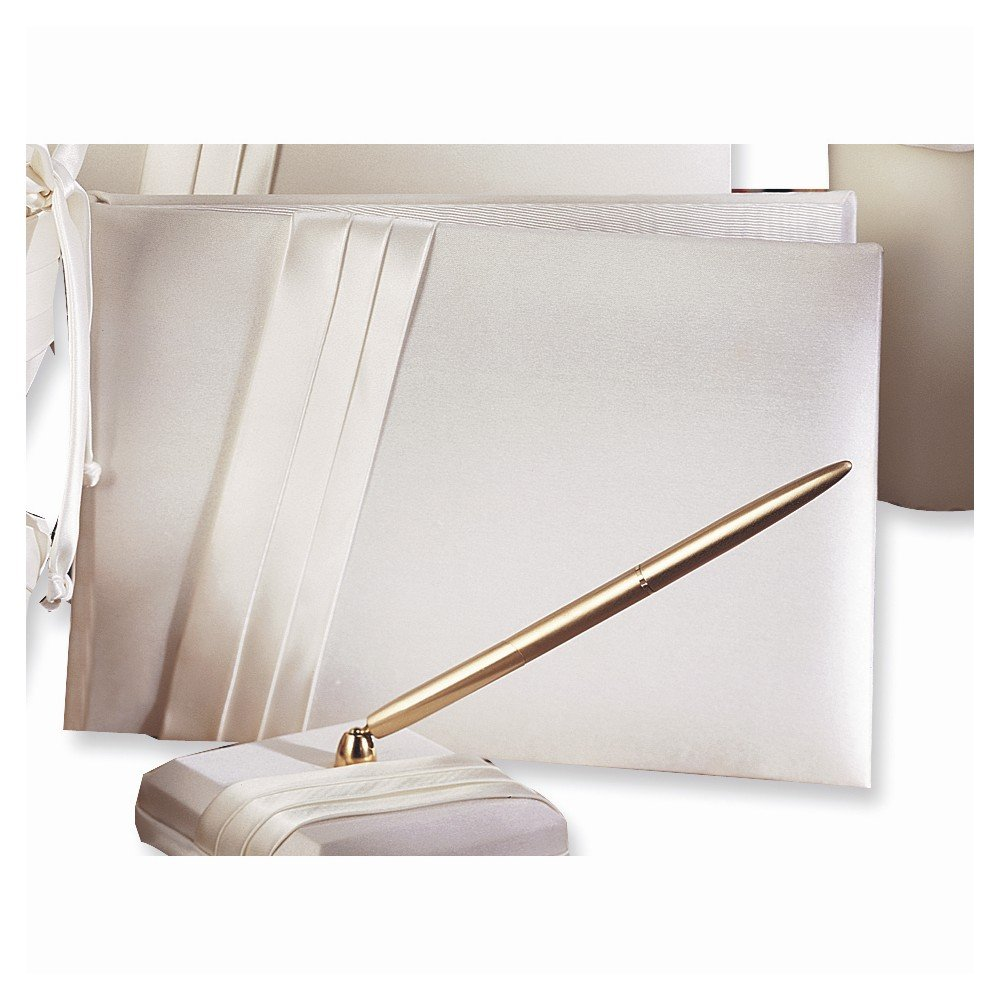 Audrey Satin Guest Book - Perfect Wedding Gift Home Garden Living Gifts