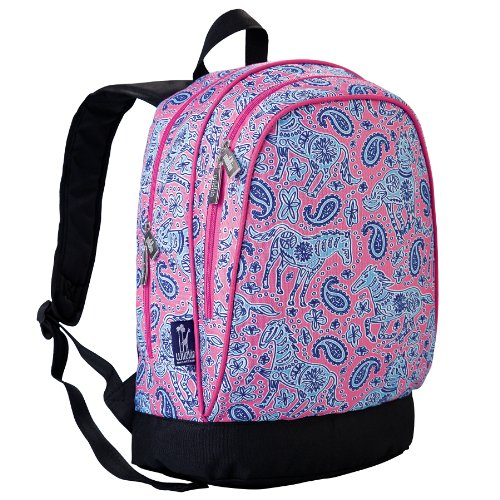 Watercolor Ponies Pink Sidekick Backpack