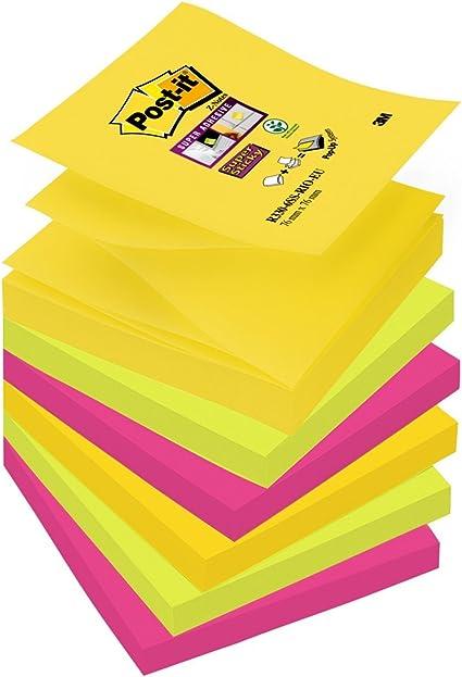 Post-It R330-6Ss-Rio-Eu - Pack de 6 Notas Adhesivas, Diseño Rio ...