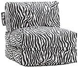 Big Joe Flip Lounger, Zebra
