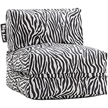 Amazon Com Big Joe Flip Lounger Zebra Kitchen Amp Dining