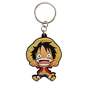 ABYstyle One Piece PVC Luffy SD Llavero Funda (Llavero,, PVC, 40 mm, 55 mm, 1 Pieza(s))