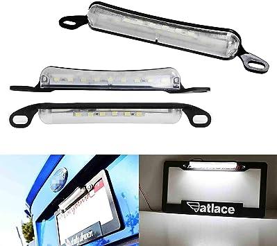 2sx 18-SMD Blanco LED Matrícula Lámpara Assy Para Mitsubishi Lancer Evo 7 8 9
