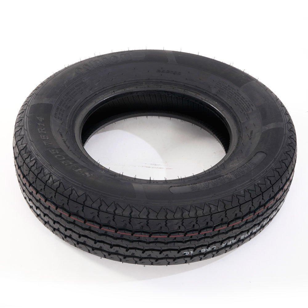 Set of 4 ST205/75R14 Radial Trailer Tires 6 Ply Load Range C 205 75 14 by Roadstar (Image #2)