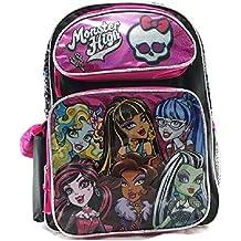 """Monster High 16"""" Large School Backpack Book Bag"""