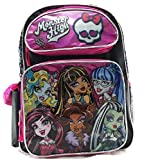 "Best Monster High High School Back Packs - Monster High 16"" Large School Backpack Book Bag Review"